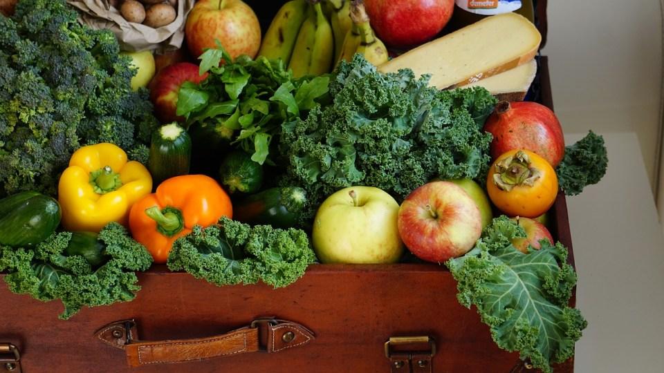 Imagen verduras y frutas