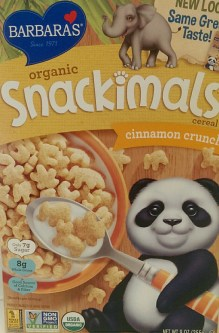 Snackimals Cinnamon Crunch