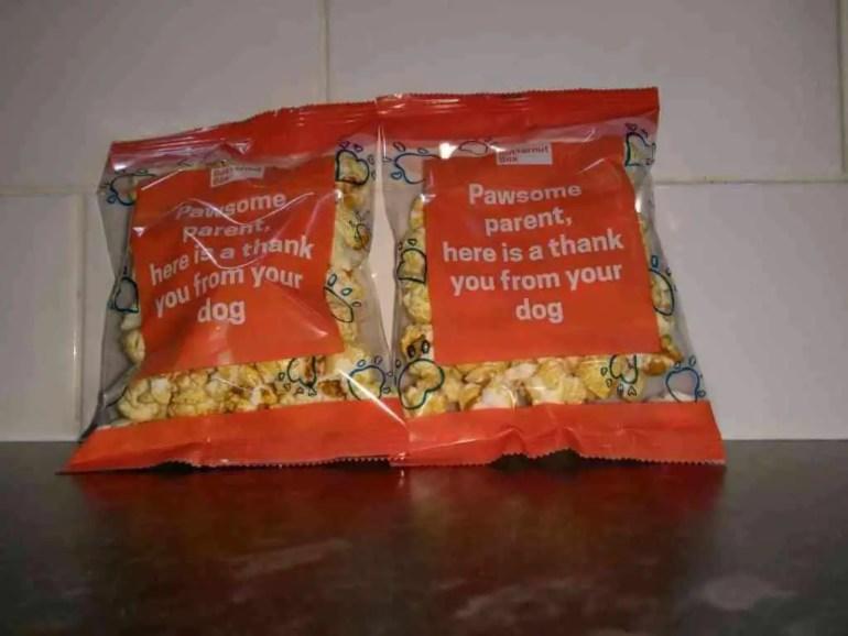 butternut box free popcorn