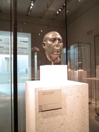 """""""Cabeza verde"""" de Berlín, creada durante la Dinastía XXX en Egipto"""