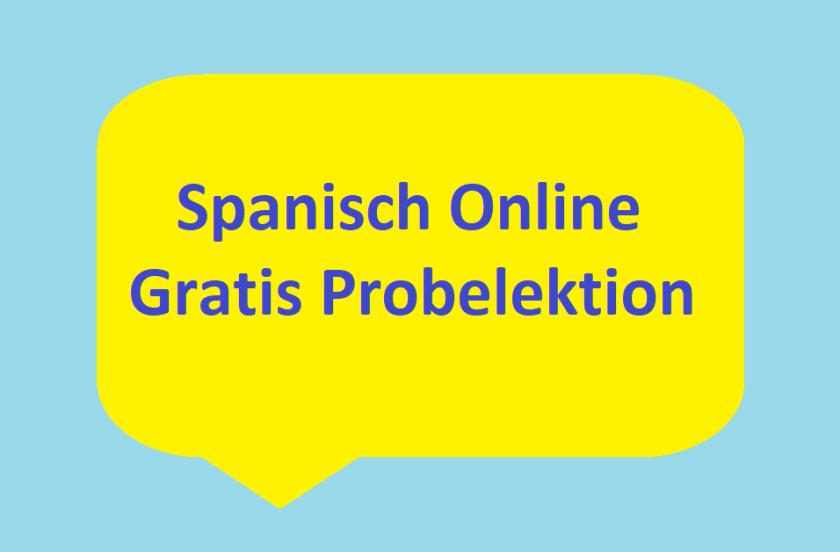 Spanisch Online