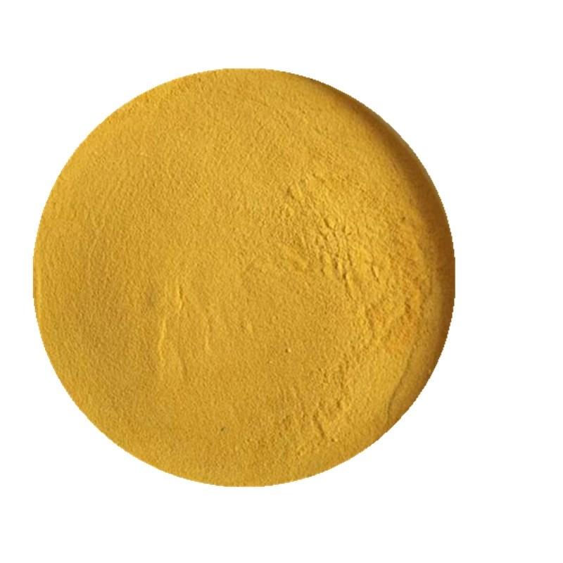 Polvo de aluminio Fe2 (SO4) 3 del amarillo del tratamiento de aguas del sulfato del sulfato de Polyferric