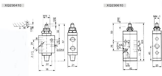 Manera y control válvula de control de la máquina de la