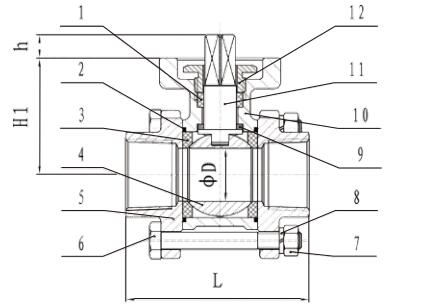 Altos control ensanchado del manual o del actuador de la