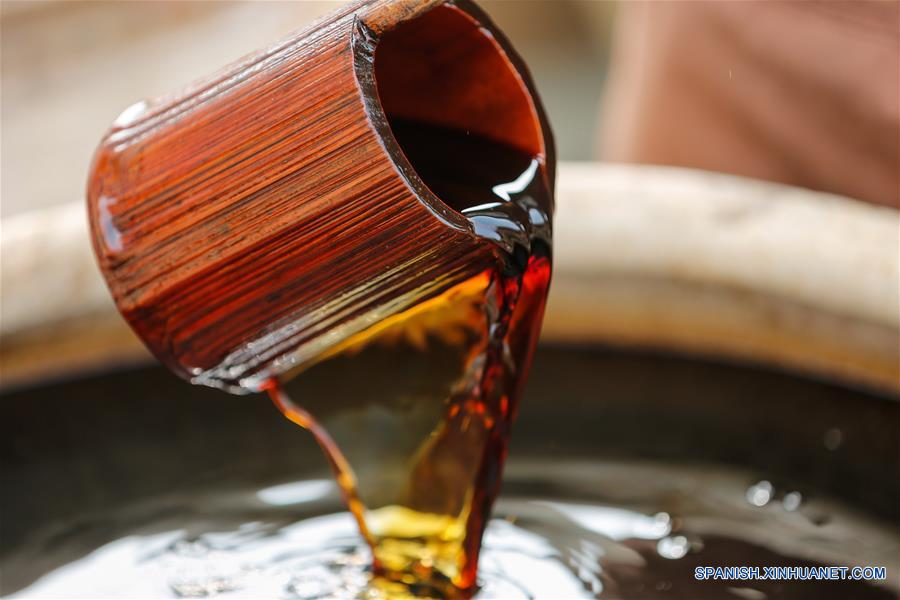 #CHINA-FUJIAN-QUANZHOU-SOY SAUCE-TRADITION(CN)