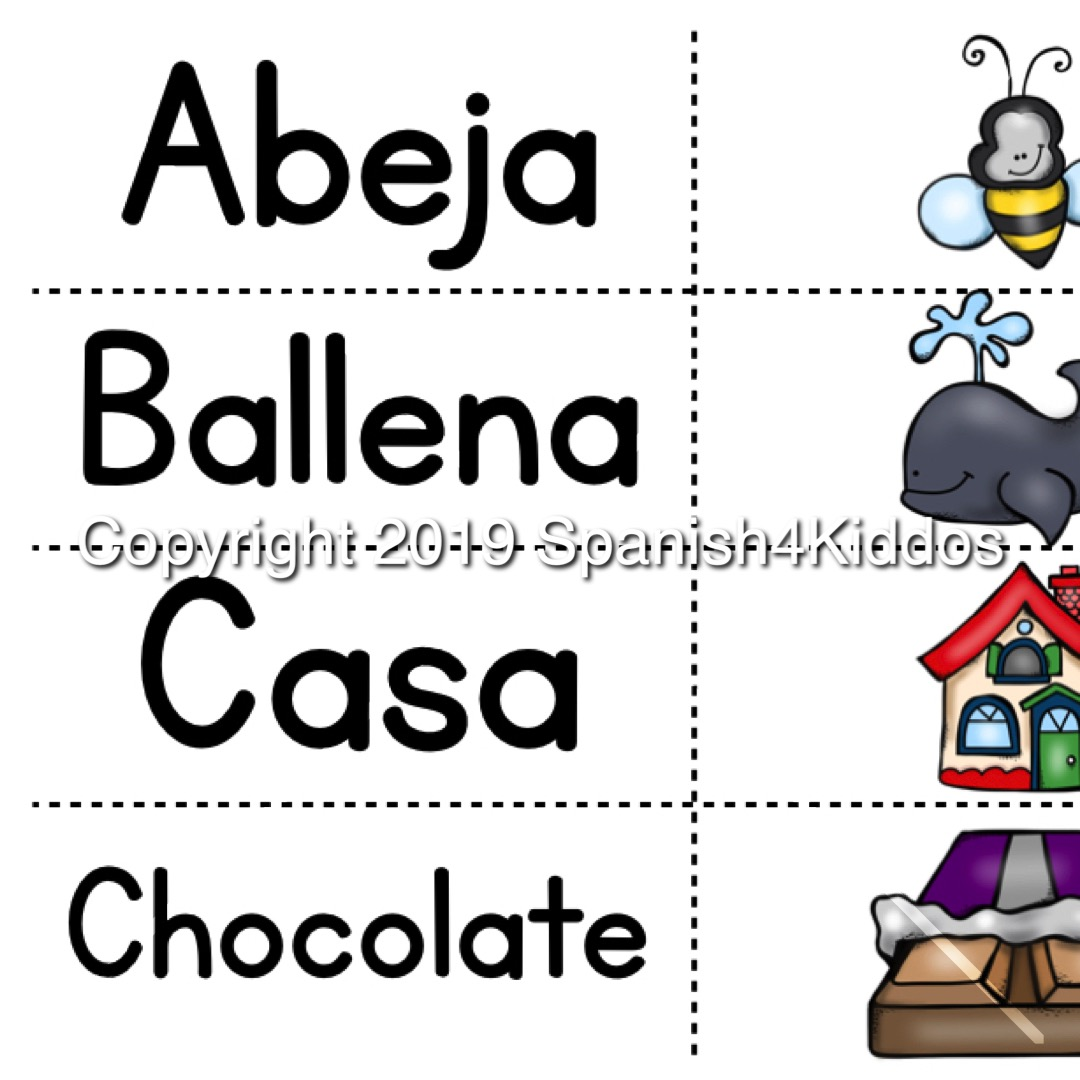 Spanish Alphabet Printable Workbook Spanish4kiddos