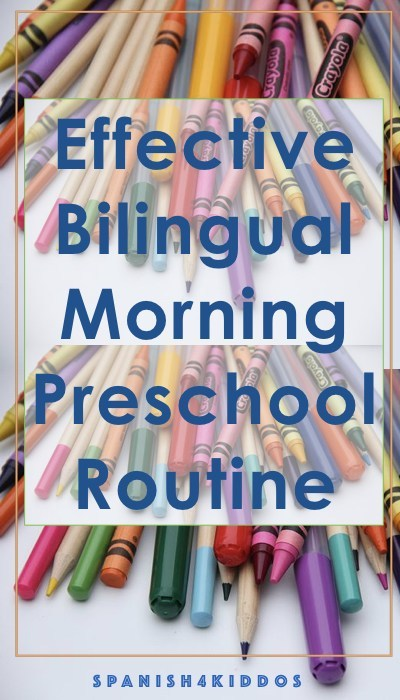 morning preschool routine