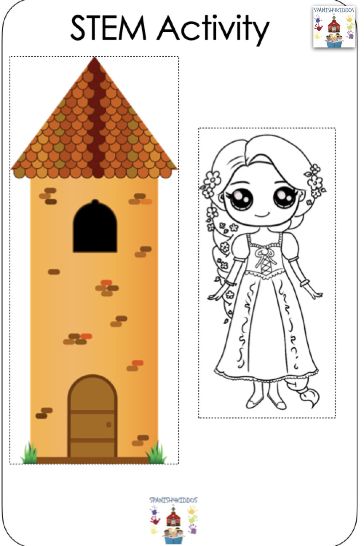 Spanish fairy tales Rapunzel