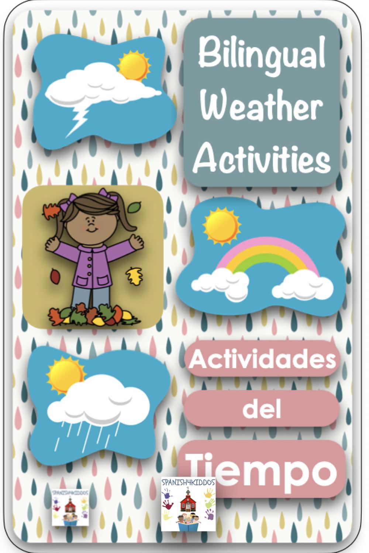 Spanish weather reading activities