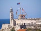 El Morro y el faro de bahia de La Habana