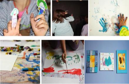 Clase Pintura Niños 1