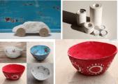 Objetos de plastilina