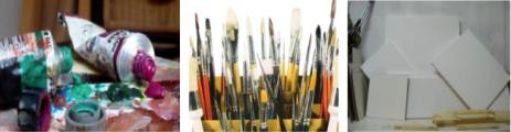 Pintura acrílica y al óleo