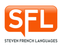 Logo Steven French Languages