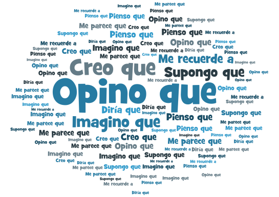 GCSE Spanish describing a photo - opinions