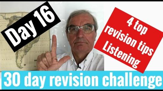Spanish GCSE 30 day challenge   day 16