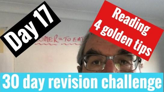Spanish GCSE 30 day challenge   day 17