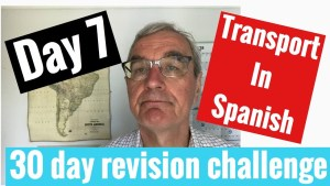 Spanish GCSE 30 day revision challenge | day 7
