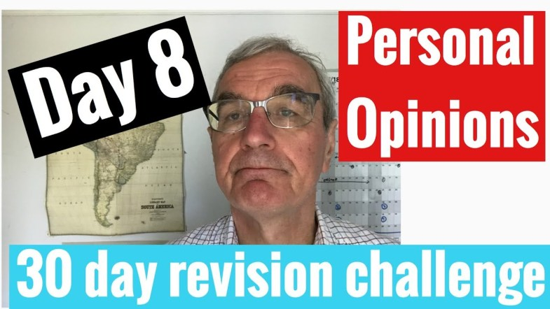 Spanish GCSE 30 day revision challenge | day 8