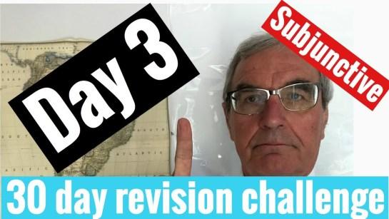 Spanish GCSE 30 day challenge   day 3