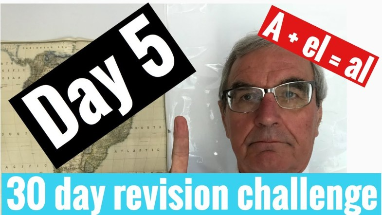 Spanish GCSE 30 day revision challenge | day 5