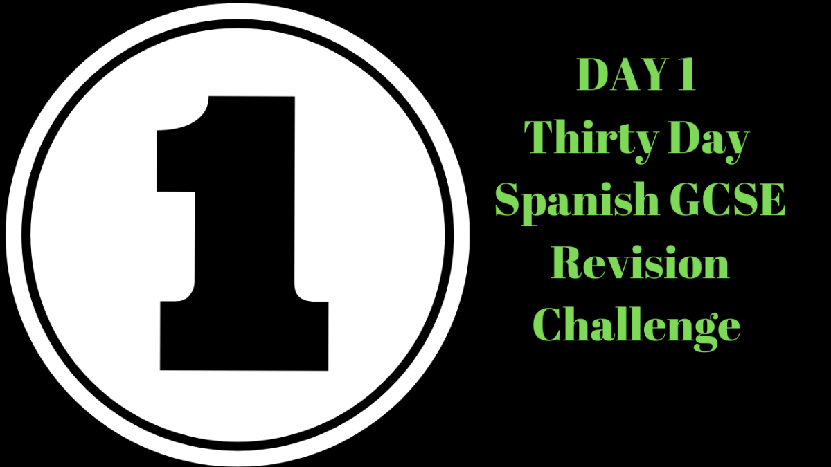 DAY 1 Thirty Day revision Challenge