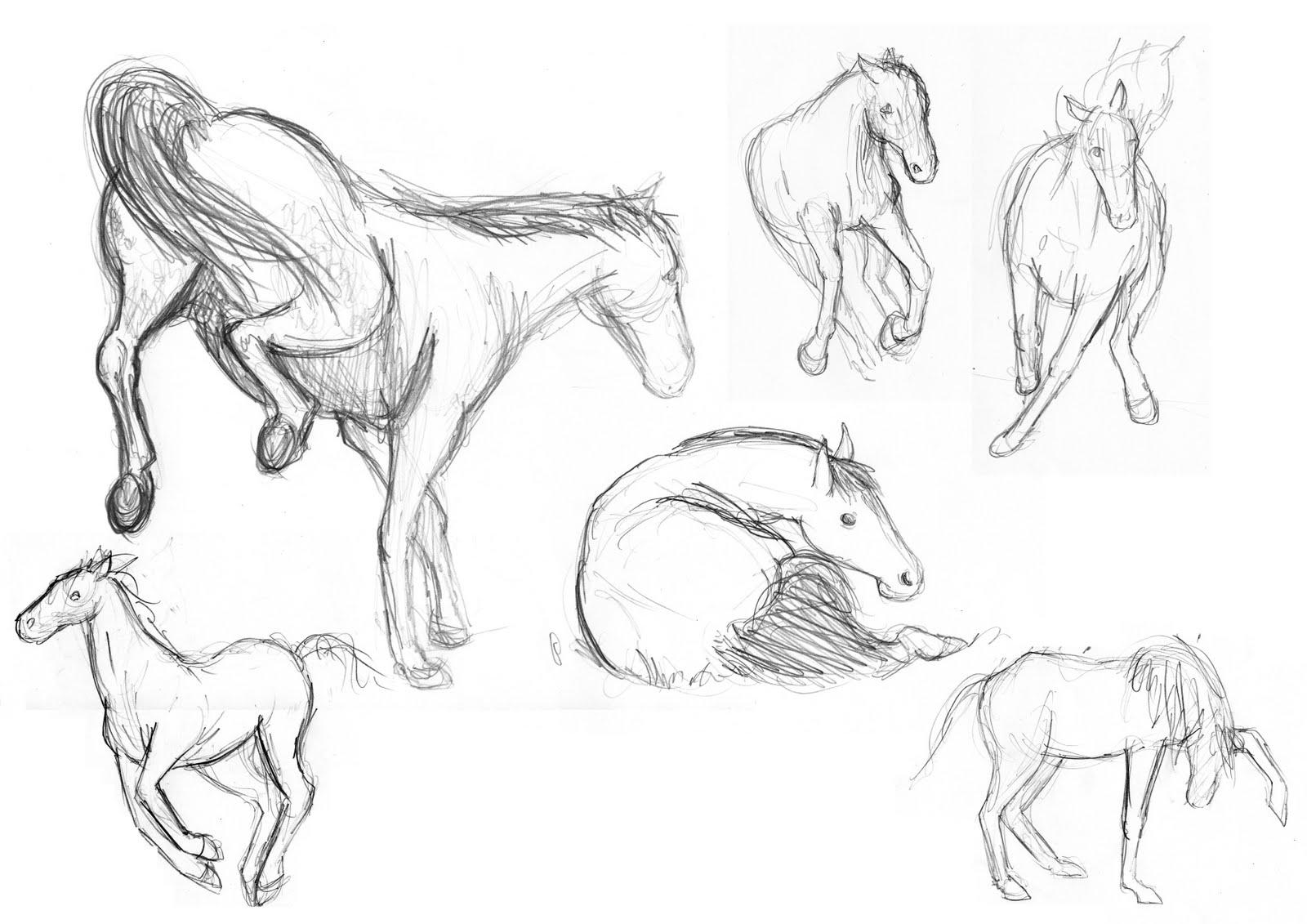 Hoe een paard te tekenen: een gemakkelijke manier voor beginners