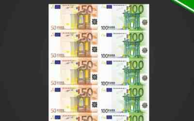 Printable Conversation Euro Tickets