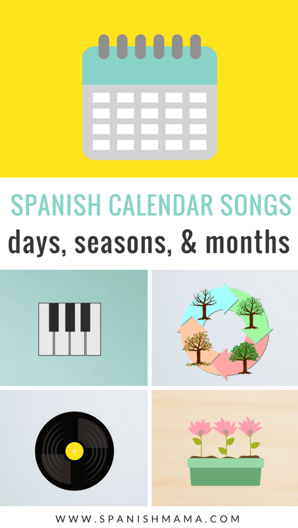 Spanish calendar songs