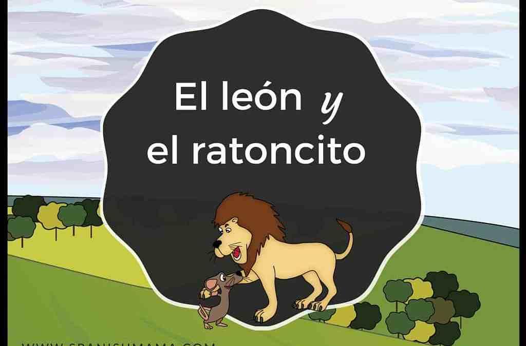 El león y el ratoncito