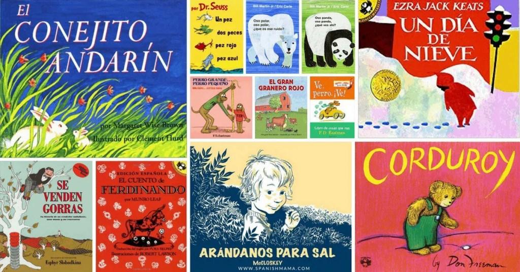 bilingual books spanish english