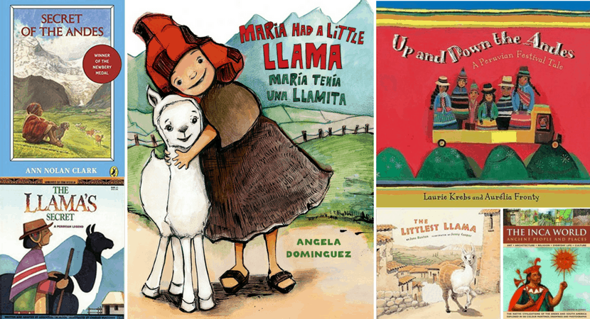 Peru Books for Kids: A Collection of Favorite Titles