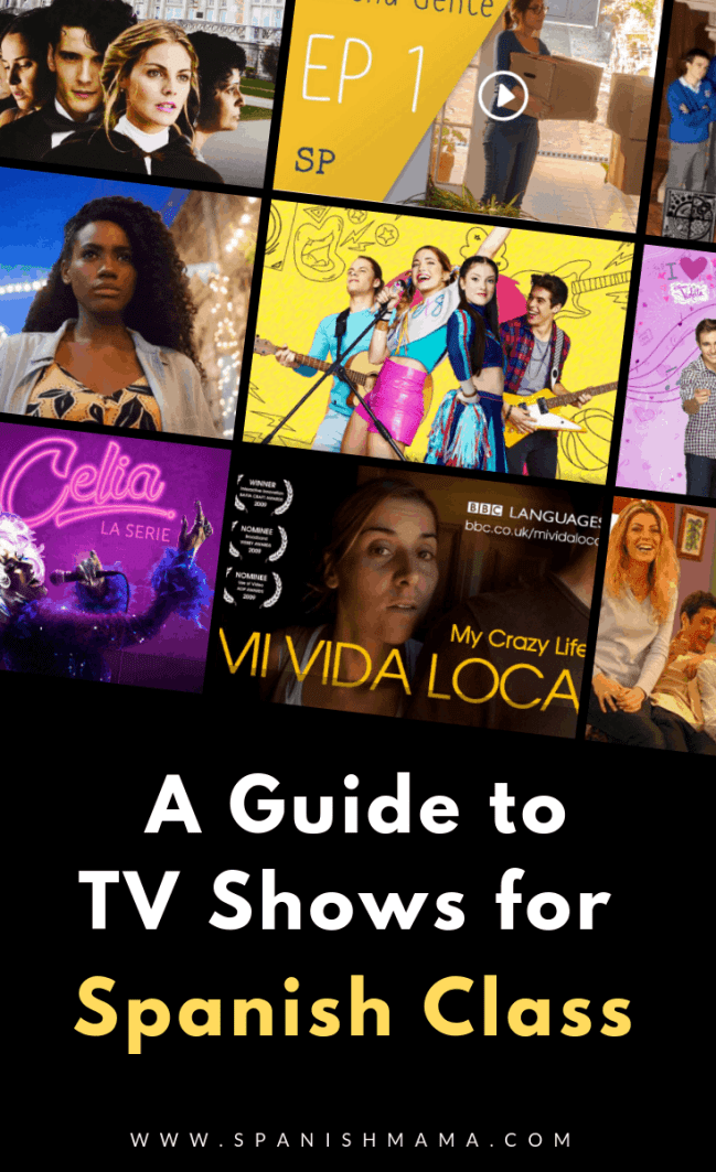 Top Spanish TV Shows To Use in Class and for Learners