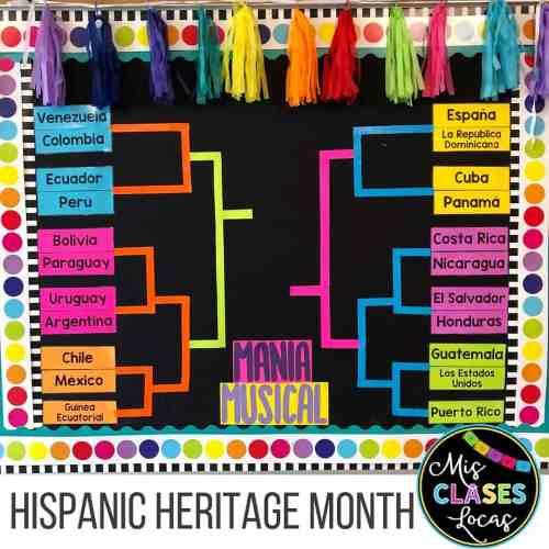 hispanic heritage month music activities