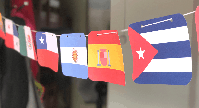 Spanish Speaking Countries Flags and Free Printable Banner