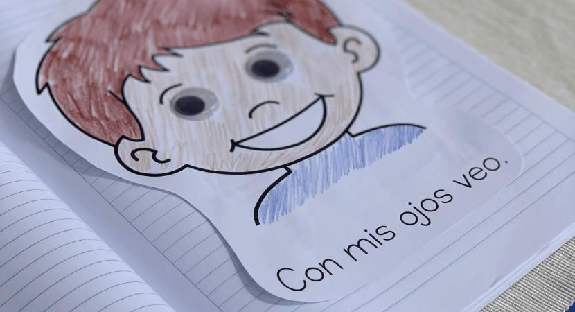 Spanish notebook for kids