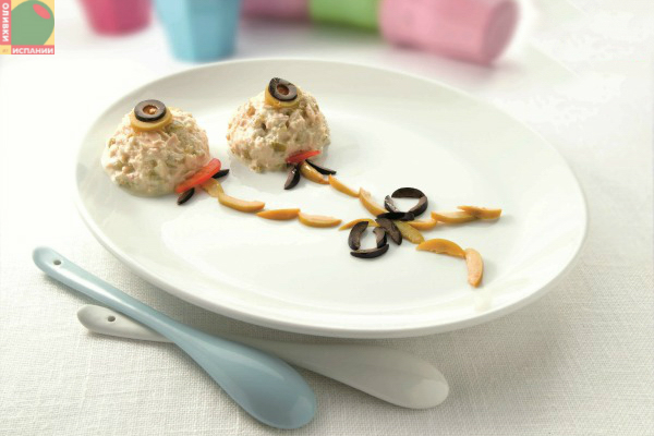 Брандада из тунца с оливками