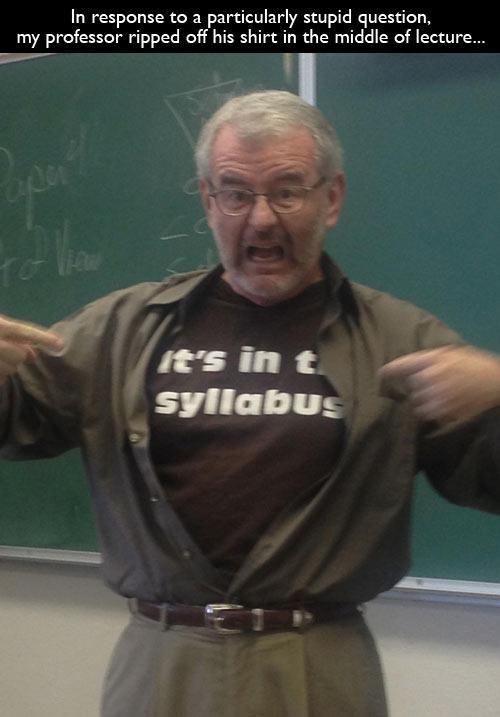 teacher syllabus