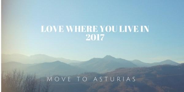 mountain view in Asturias