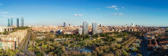 M&G to buy Madrid's Skyline tower