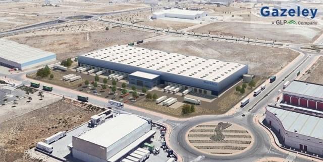 Gazeley buys 42,200m² of logistics land in Madrid.