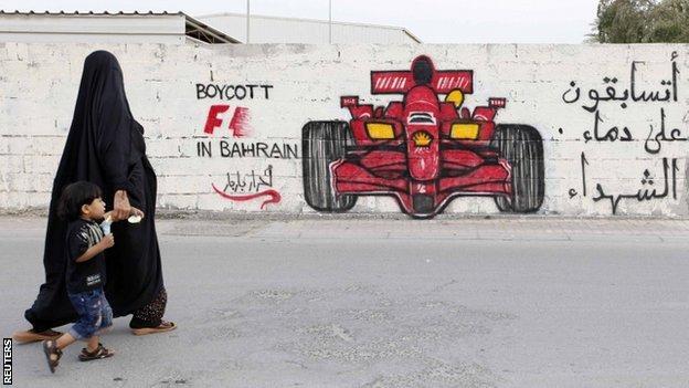 Bahréin intenta tapar su vergonzoso pisoteo a los derechos humanos con la Fórmula 1