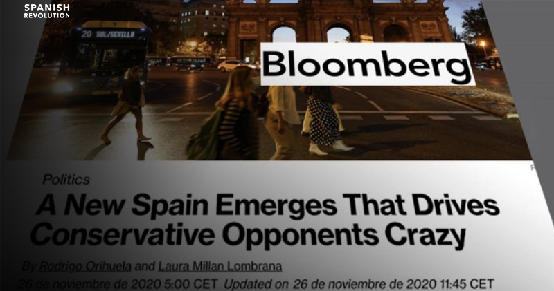 """La prensa internacional señala que """"una nueva España está emergiendo y vuelve locos a sus oponentes conservadores"""""""