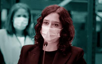 Isabel Díaz Ayuso - Falangista