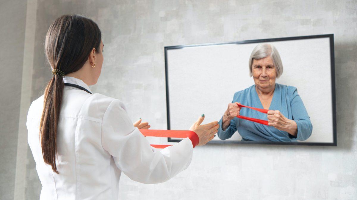 ¿Es posible la telefisioterapia?