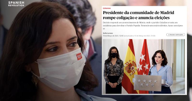 Prensa Portuguesa Ayuso
