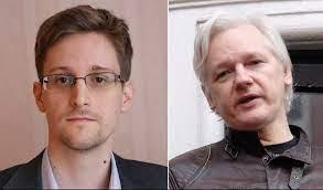 Assange Snowden 1