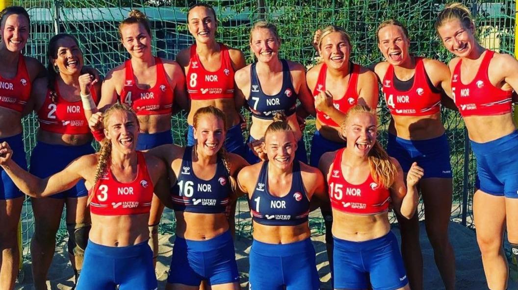 Noruega de balonmano playa termina siendo sancionada por no jugar en bikini