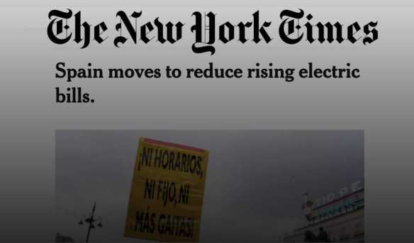 The New York Times Podemos