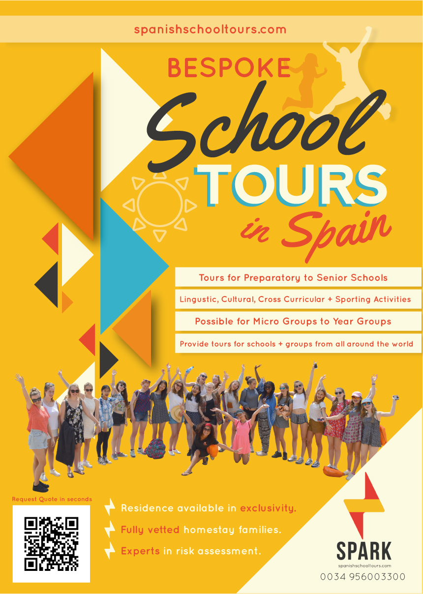 School Trips to Spain Poster